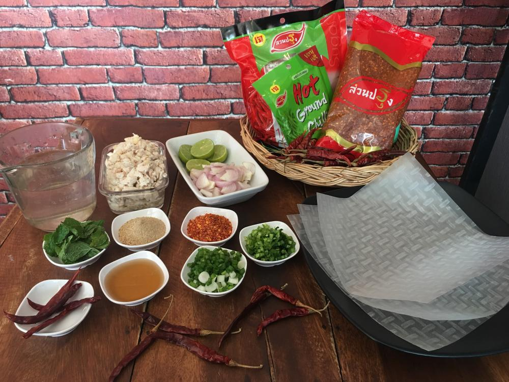 How to cook Spring rolls Spicy Minced ch..